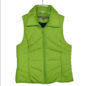 Kenneth Cole Reaction Green Puffer Vest Size M